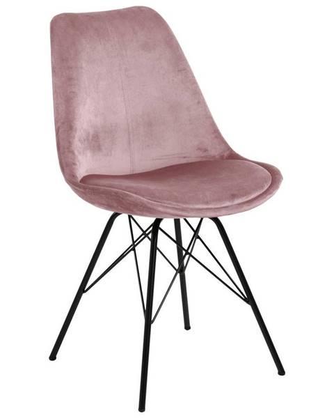 Ružová stolička Möbelix