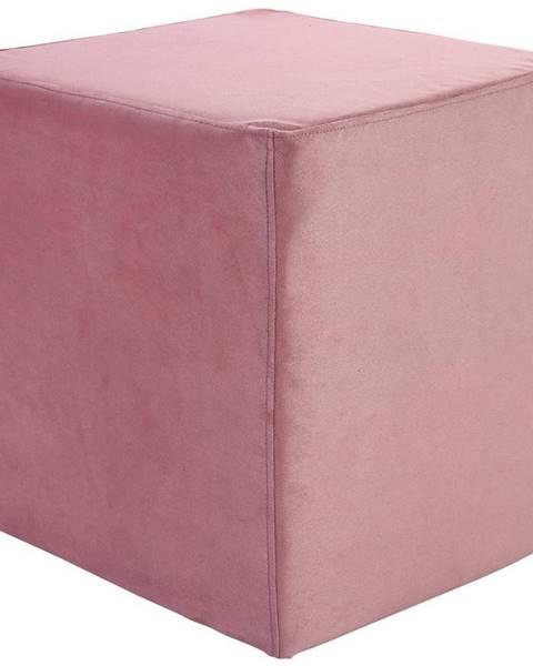 Ružová taburetka Möbelix