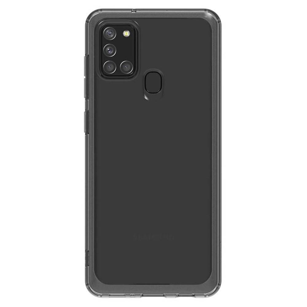 Samsung Kryt na mobil Samsung Galaxy A21s čierny/priehľadný