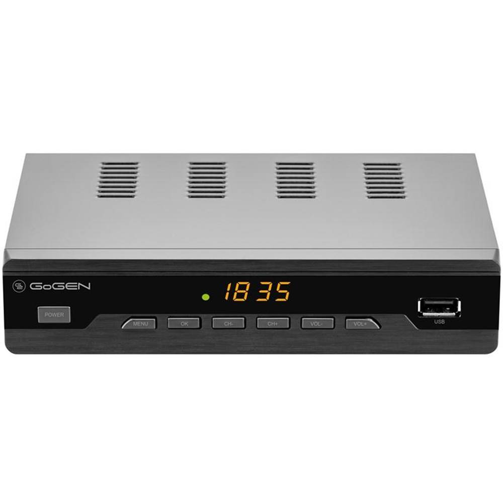 GoGEN Set-top box Gogen DVB 272 T2 PVR čierny