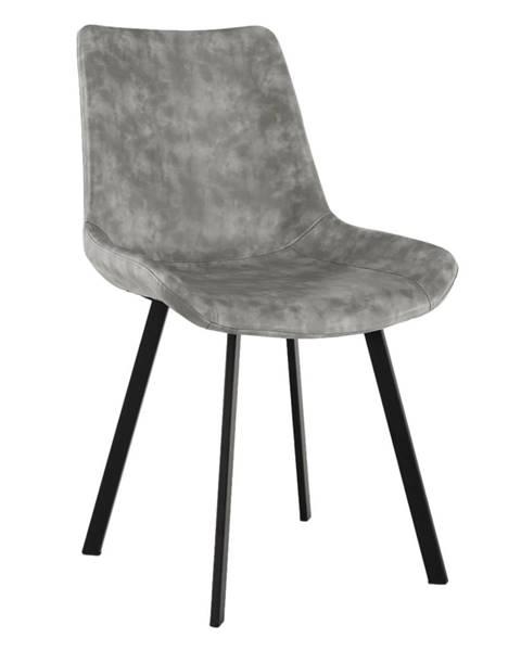 Čierna stolička Tempo Kondela