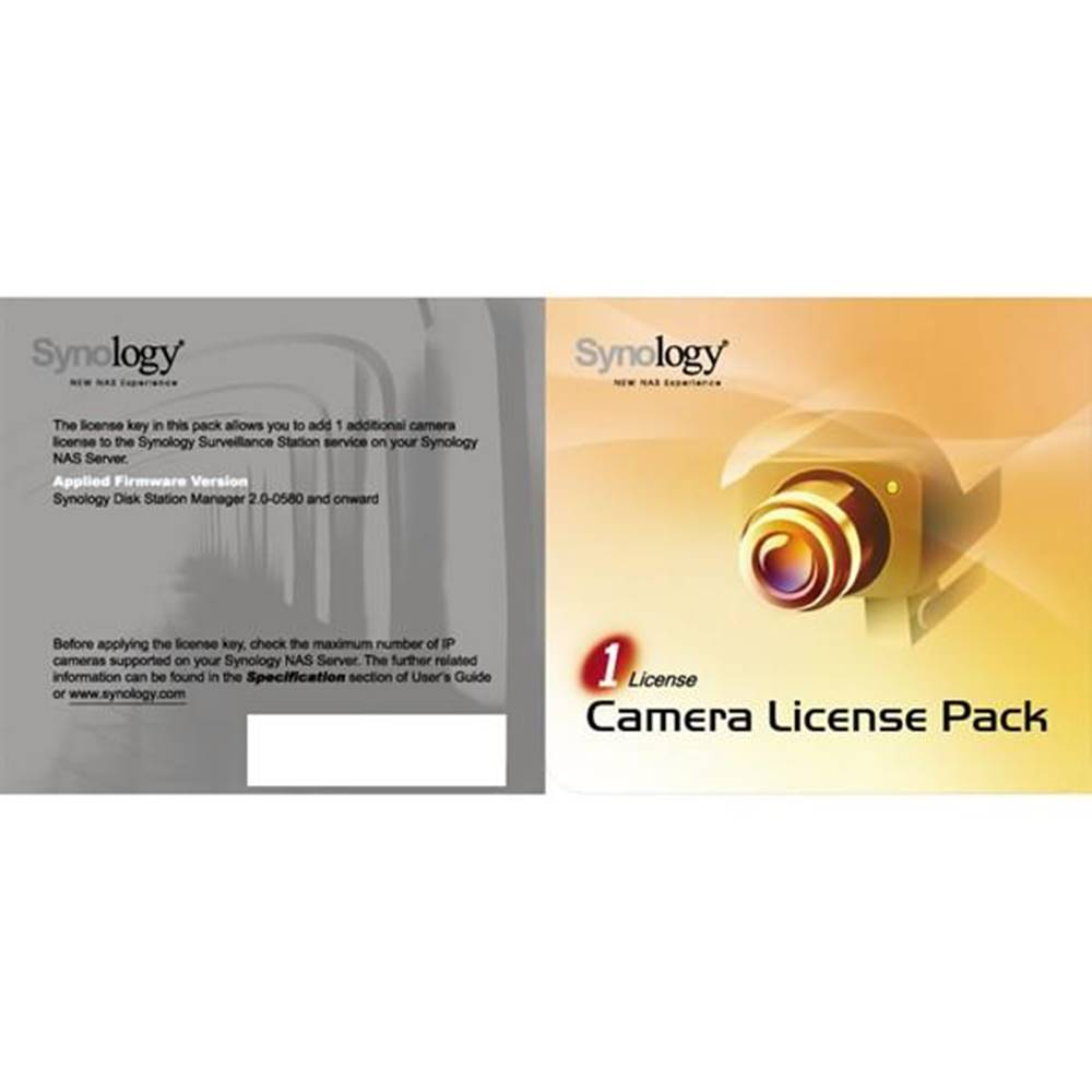 Software  Synology License ...