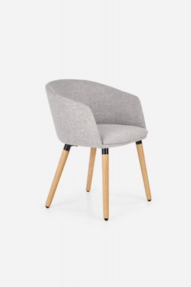 OKAY nábytok Jedálenská stolička K266 sivá