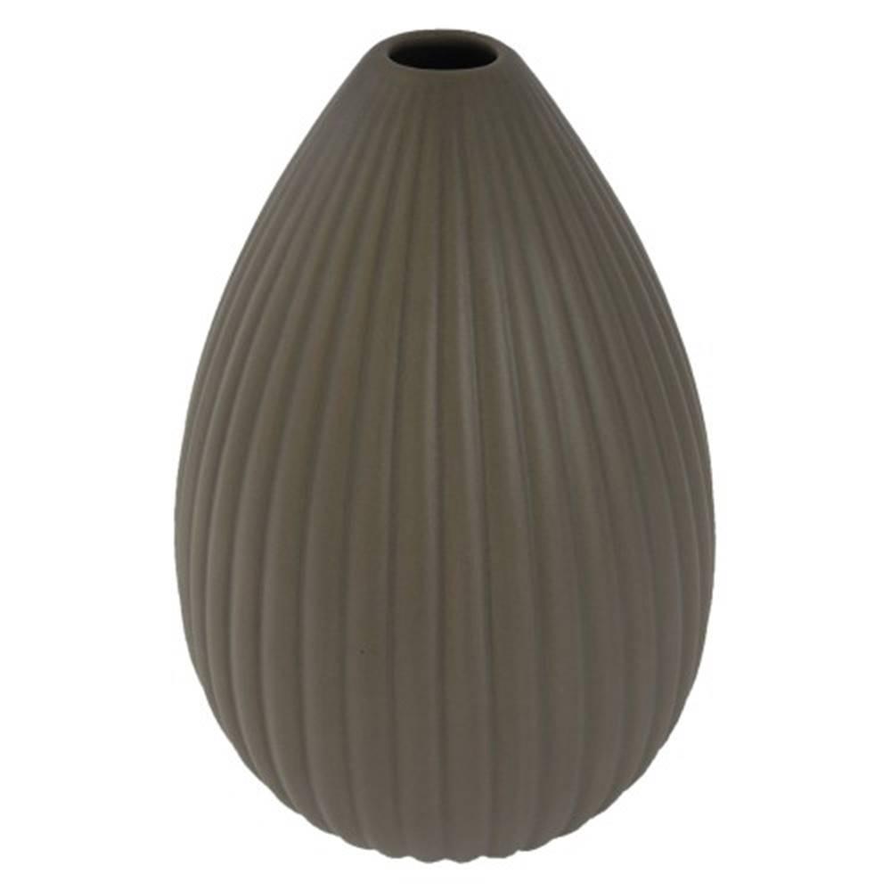 OKAY nábytok Keramická váza VK36 hnedá matná