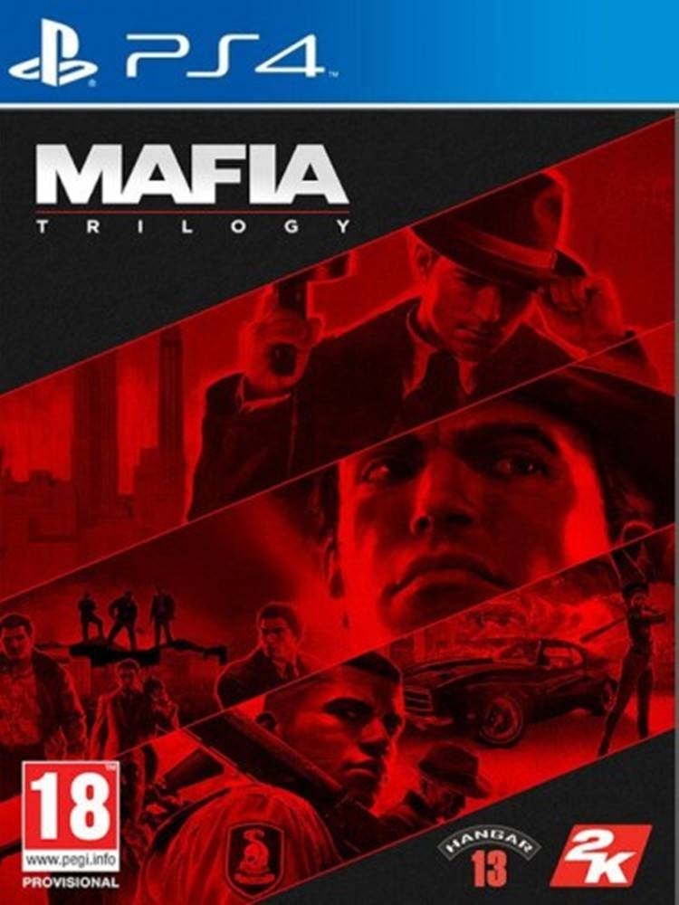 AT Computers PS4 hra - Mafia Trilogy