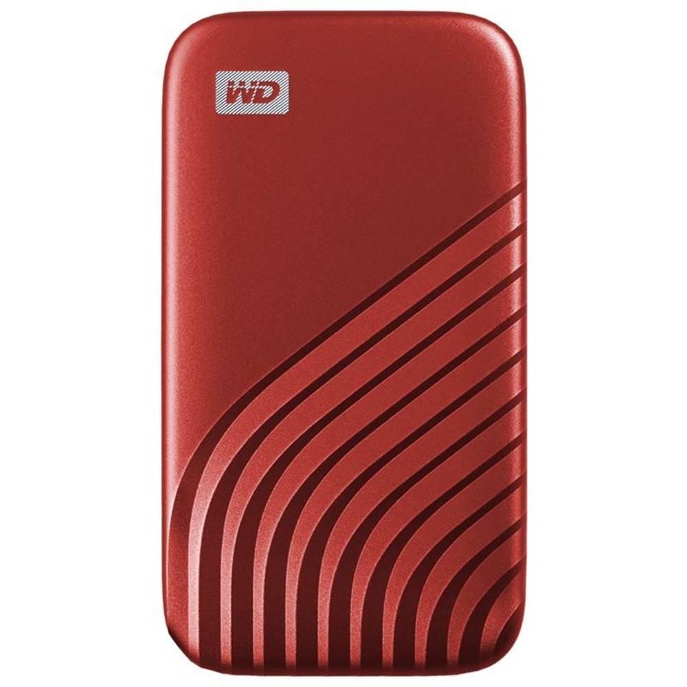 Western Digital SSD externý Western Digital My Passport SSD 2TB červený