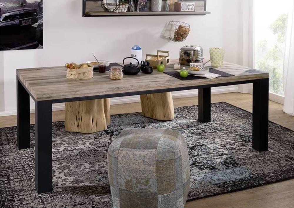 Bighome.sk TIROL Jedálenský stôl 220x100 cm, svetlohnedá, dub