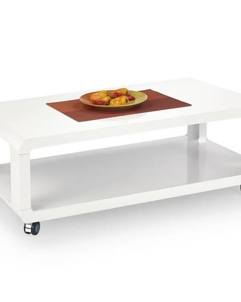 Lesklý stôl Halmar