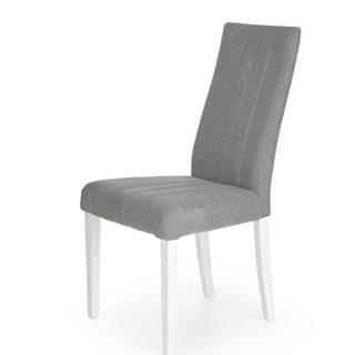 Diego jedálenská stolička biela