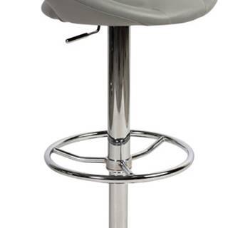C-300 barová stolička sivá