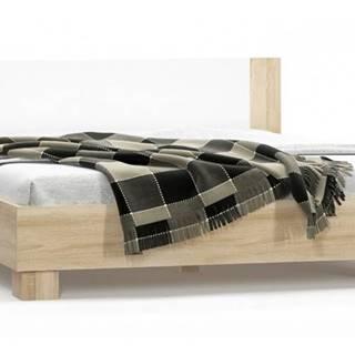 Markos 180 manželská posteľ s roštom dub sonoma