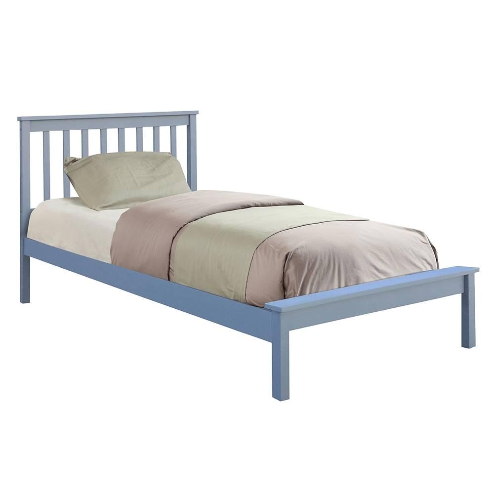 Tempo Kondela Mange jednolôžková posteľ s roštom sivá