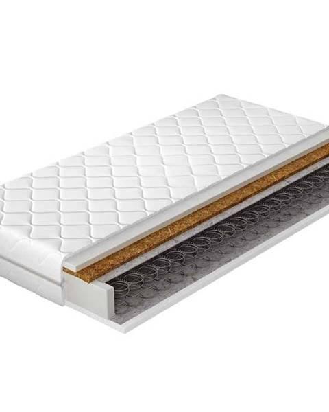 Biela posteľ NABBI