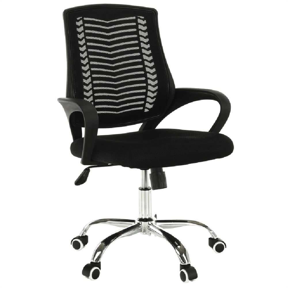 Tempo Kondela Imela Typ 2 kancelárske kreslo s podrúčkami čierna