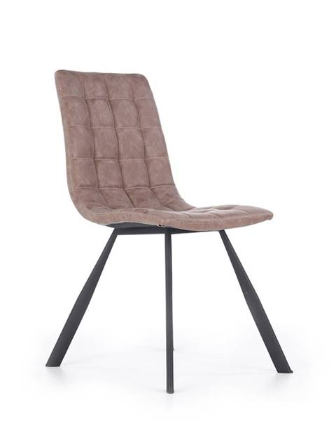 Hnedá stolička Halmar