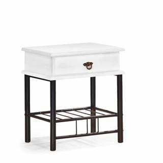 Fiona nočný stolík biela