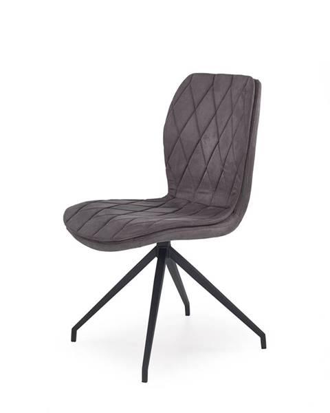 Sivá stolička Halmar