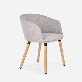K266 jedálenská stolička svetlosivá