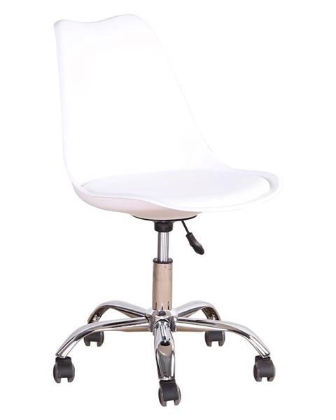 Biela stolička Tempo Kondela