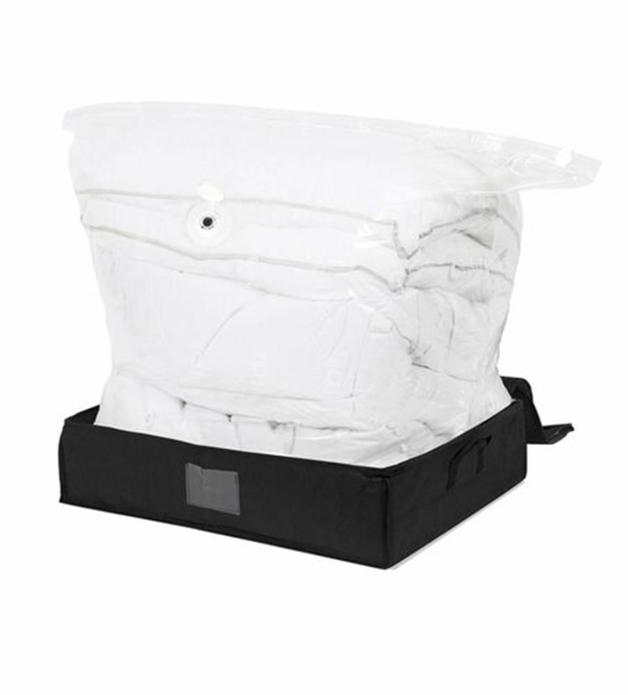 Compactor Compactor Black Edition vákuový úložný box s vystuženým puzdrom - L 145 litrov, 50 x 65 x 15,5 cm