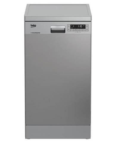Umývačka riadu Beko DFS 26024 X nerez