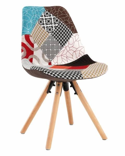 Viacfarebná stolička Tempo Kondela