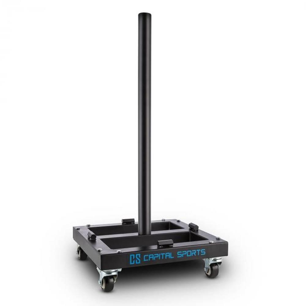 Capital Sports Capital Sports Compristar, max. 300 kg, stojan na naloženie kotúčových závaží, vozík, kolieska