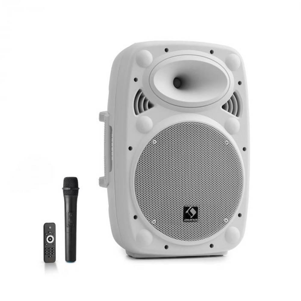 "Auna Auna Pro Streetstar 10, mobilný PA systém, 10"" (25.5 cm), UHF mikrofón, 400 W max., biely"