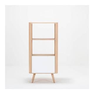 Knižnica z dubového dreva Gazzda Ena, 60×42×125 cm