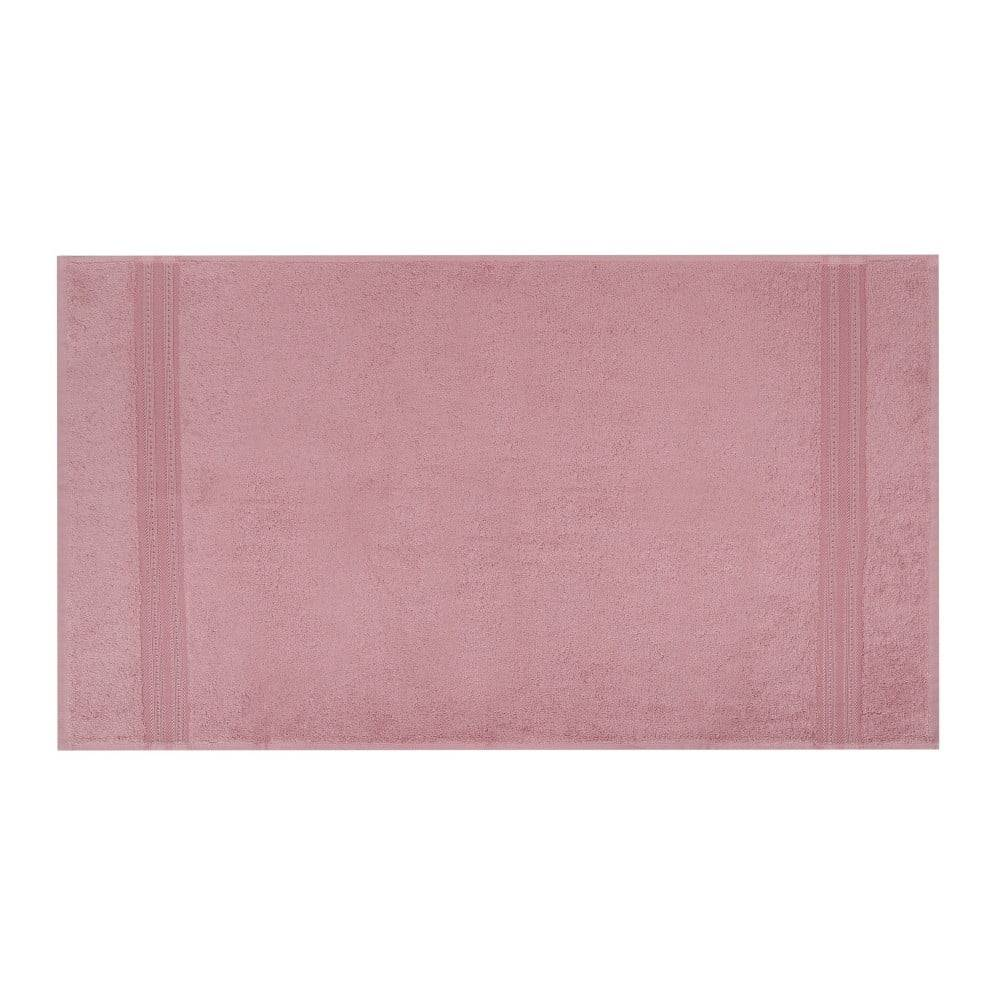 Hobby Ružová osuška Laverne, 70x140cm