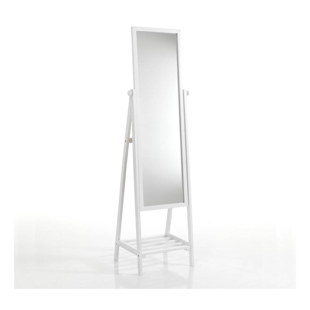 Tomasucci Biele stojacie zrkadlo s policou Tomasucci Brill