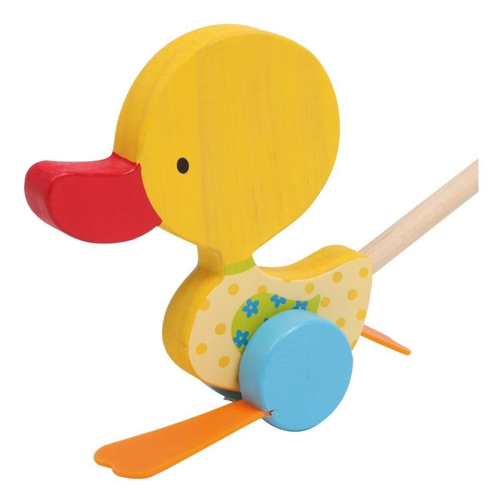 Legler Drevená ťahacia hračka Legler Duck Tine