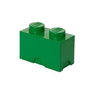 Zelený úložný dvojbox LEGO®