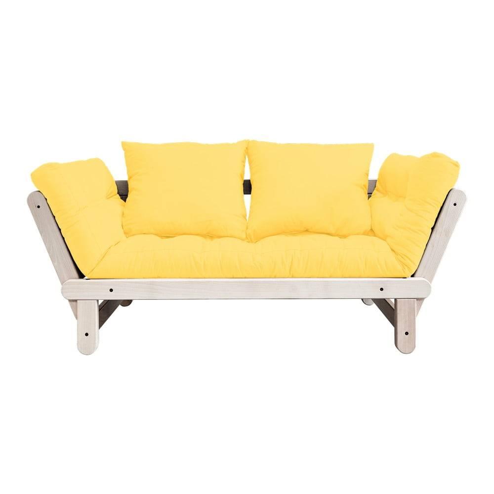 Karup Design Variabilná pohovka Karup Design Beat Natural/Yellow