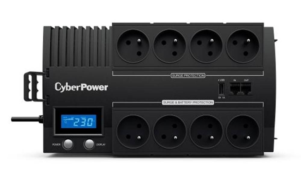 Cyber Power Systems Záložný zdroj Cyber Power Systems Brics LCD UPS 700VA/420W