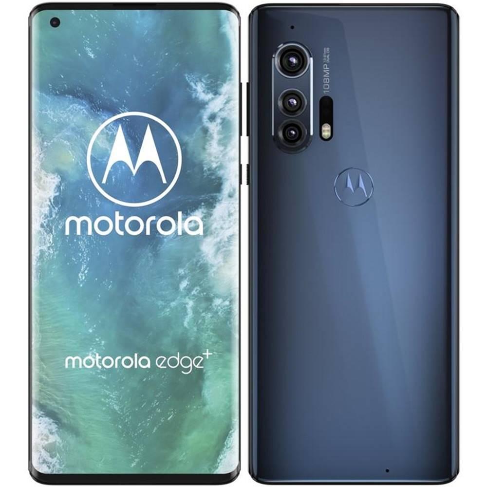 Motorola Mobilný telefón Motorola Edge Plus 5G sivý/modrý