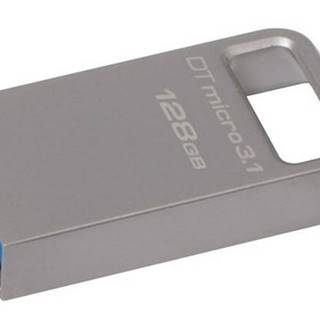 USB flash disk Kingston DataTraveler Micro 3.1 128GB kovový