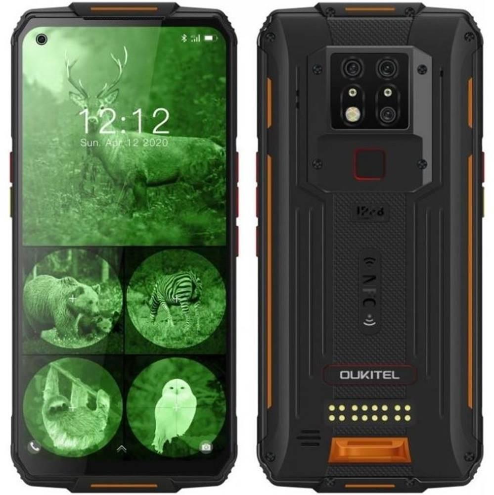 Oukitel Mobilný telefón Oukitel WP7 čierny/oranžový
