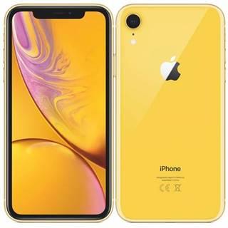 Mobilný telefón Apple iPhone XR 64 GB - yellow
