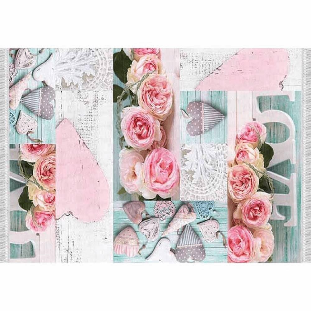 Tempo Kondela Koberec vzor ruže viacfarebný 160x230 SONIL TYP 2