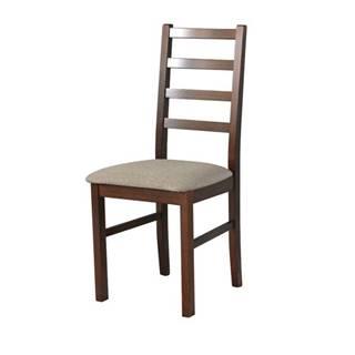 Jedálenská stolička NILA 8 svetlohnedá