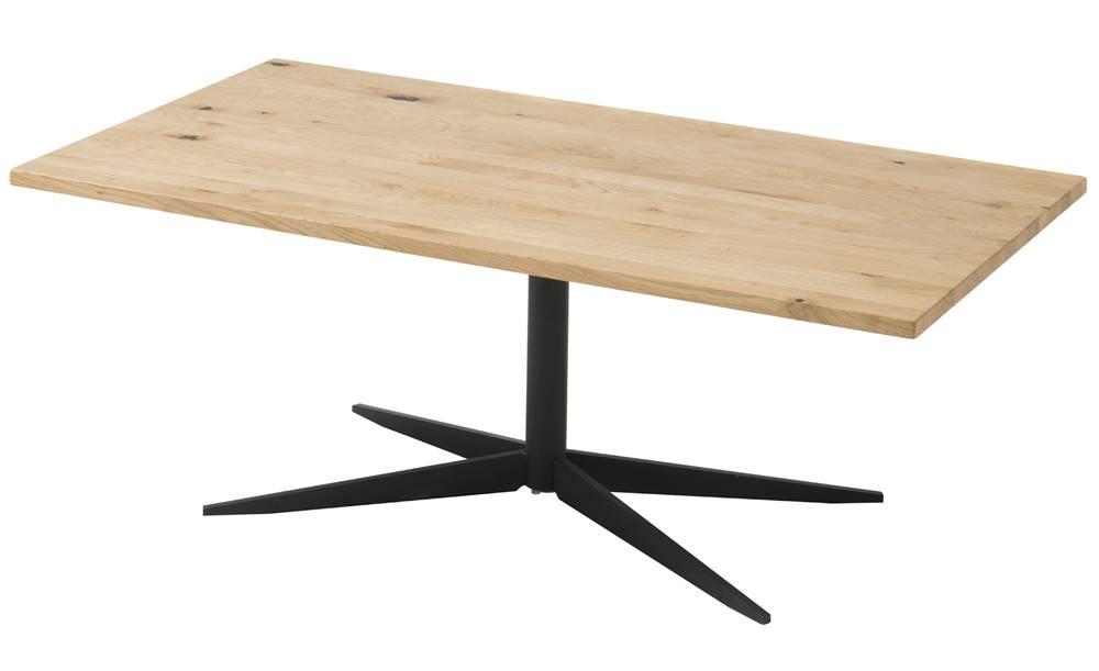 Sconto Konferenčný stolík NOLAN dub/čierna